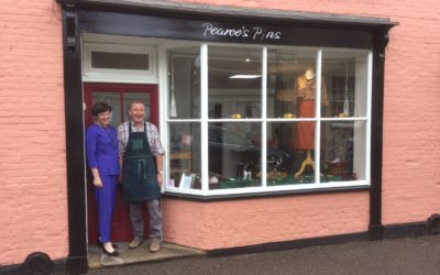Pearce's Pins – growing a high street retail business